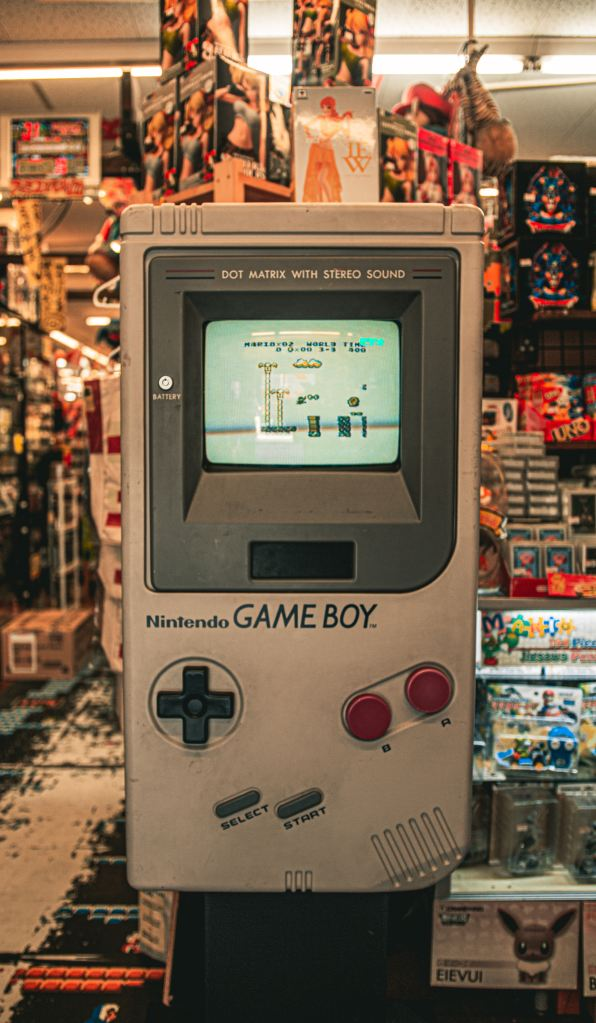 Grey Nintendo Game Boy